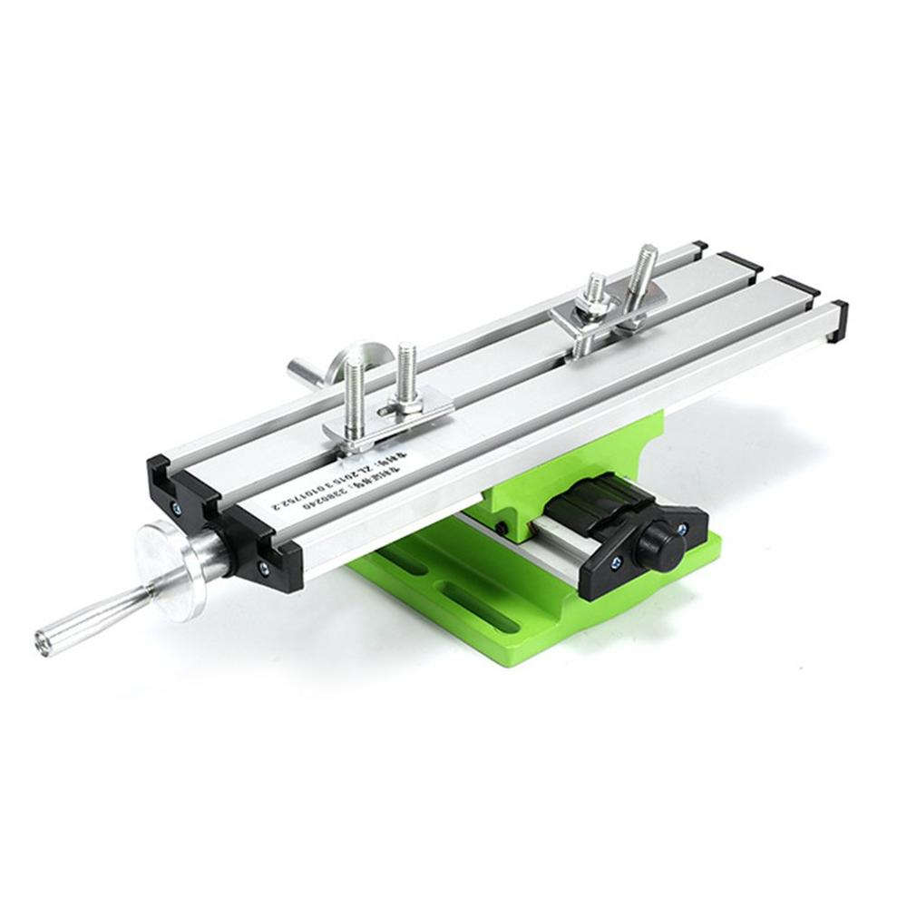 6300 Mini Präzision Multifunktions Arbeitstisch Schraubstock Leuchte Bohrer Fräsen Maschine X Und Y-achse Einstellung Koordinieren Tisch