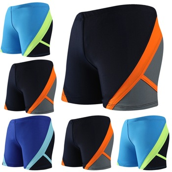 Boys' Swimming Trunks Children Mixed Colors Boxer Bathing Suit Children Beach Quick-Dry Swimming Trunks Ykzt09159