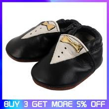 Genuine Leather Baby Toddler Shoes Moccasins Anti -Slip Boys Girl Shoes Cartoon Infant Toddler Soft Sole First Walkers 0-24M цены