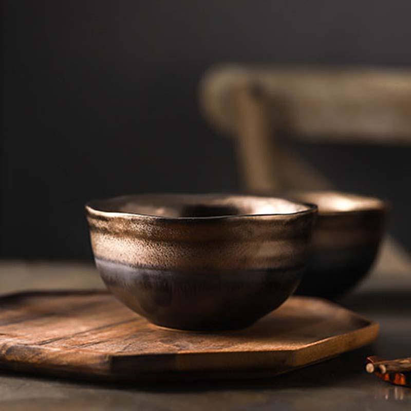 sobremesa tigela, estilo japonês arroz tigela, pequena