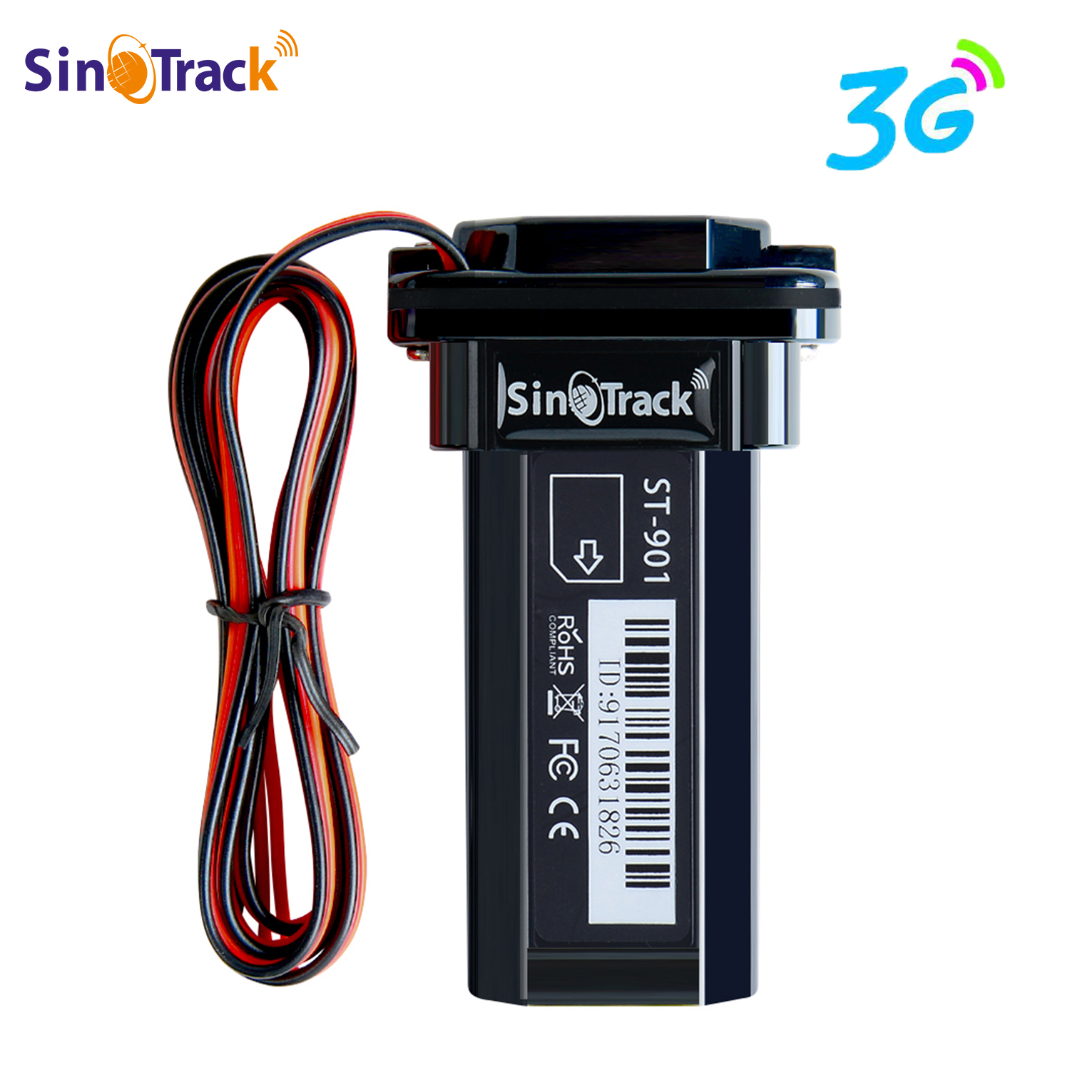 3G WCDMA Mini Tracker Waterproof Builtin Battery GPS ST-901 For Car Vehicle Gps Device Motorcycle With Online Tracking Software