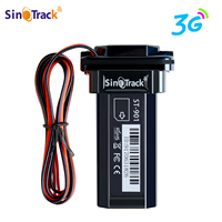 Mini Waterproof Builtin Battery 3G WCDMA GPS tracker ST 901 for Car motorcycle vehicle gps device with online tracking software