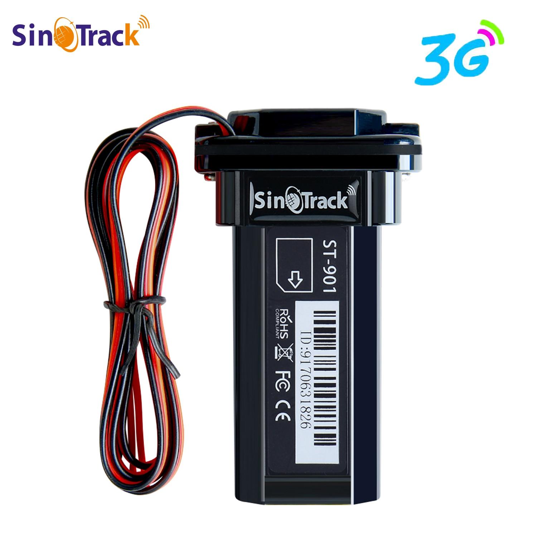 Mini batterie imperméable à l'eau de construction 3G WCDMA GPS tracker ST-901 pour voiture moto véhicule gps dispositif avec logiciel de suivi en ligne