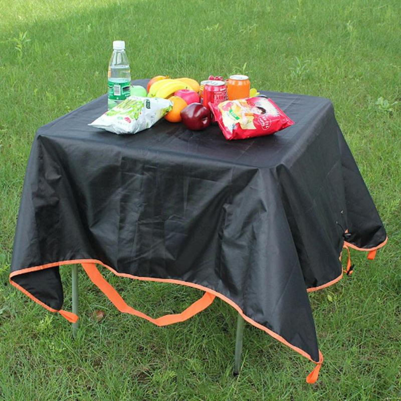 Large Capacity Outdoor Camping Picnic Mats Foldable Light Weight 420D Oxford Cloth Waterproof Beach Traveling Blanket