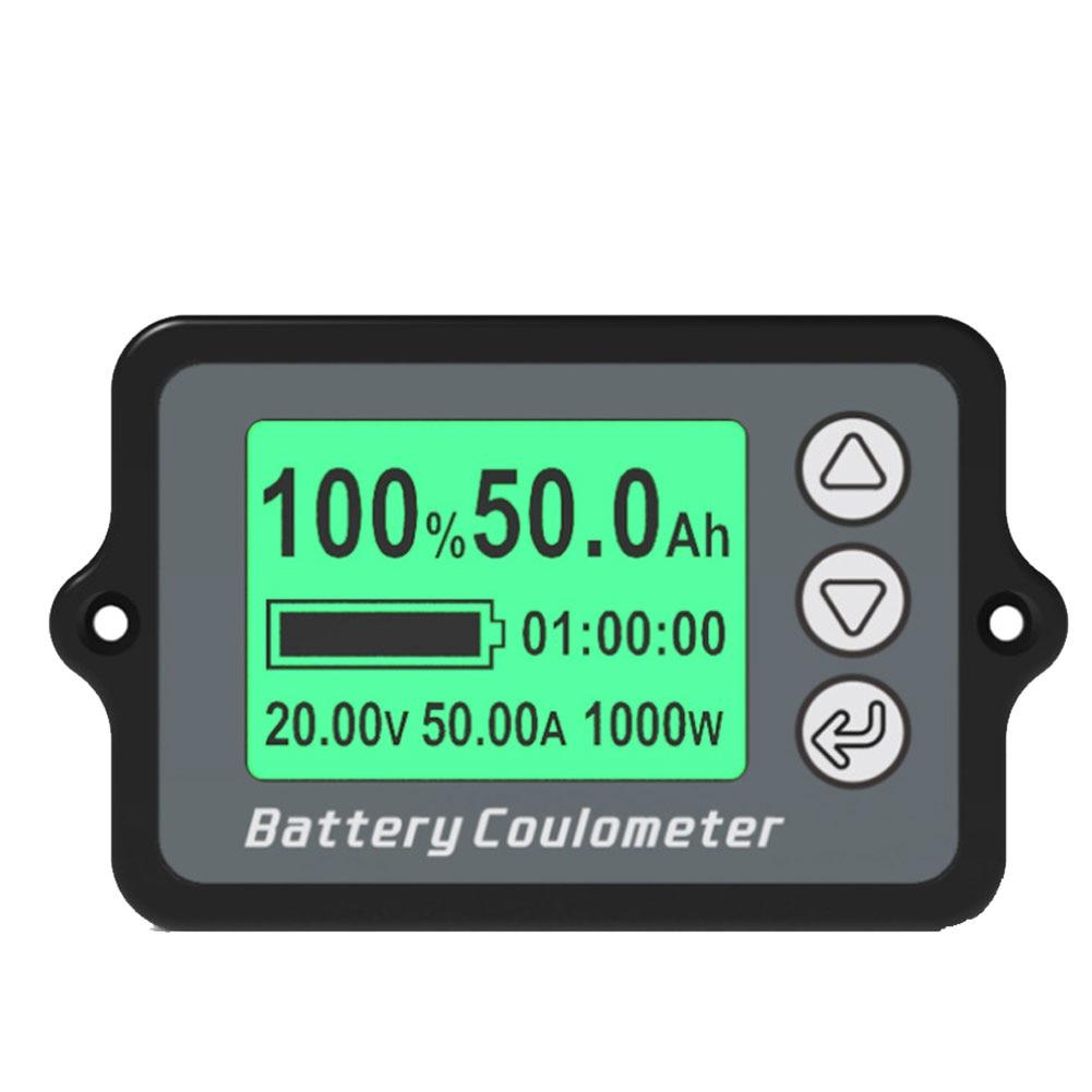 Кулометр TK15, тестер емкости аккумуляторов, 50 А, 100 А, 350 А, монитор, измеритель напряжения и мощности