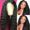 Asteria Water Wave 13x4 Lace Frontal Human Hair Wigs For Black Women Brazilian Human Hair Wigs Pre Plucked Baby Hair Remy Hair