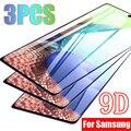 3Pcs 9D Schutz Gehärtetem Glas für Samsung Galaxy A21S S21 Plus S20 FE A51 A71 A52 A72 A12 A70 a31 A50 A10S Display-schutzfolien