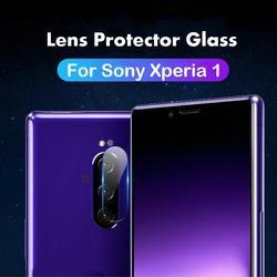 Câmera traseira lente protetor película protetora para sony xperia 1 xz4 xz3 xz2 compacto xz premium xzs z2 z3 z4 z5 claro vidro temperado