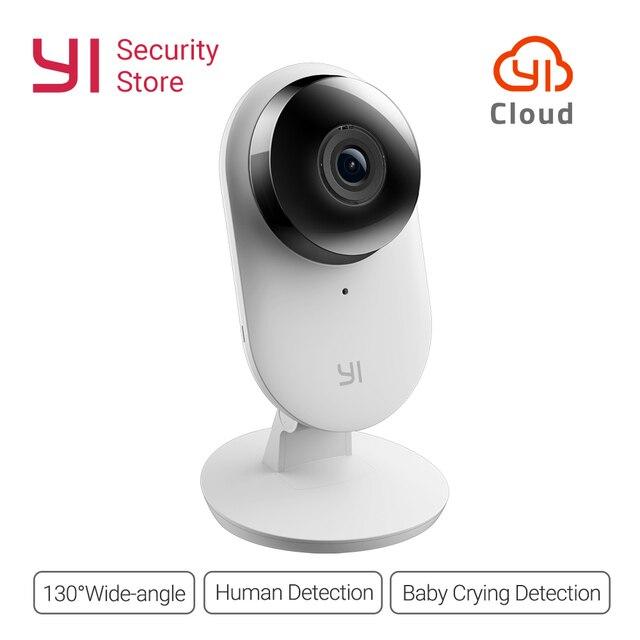 Yi Home Camera 1080P 2 FHD IP Security Camera Baby Monitor Wireless CCTV WIFI Night Vision International Version Camera Owl CMOS