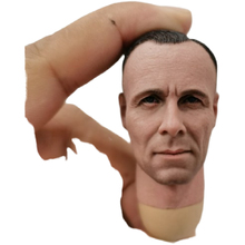 Масштаб 1/6 Erwin Rommel мужской солдат голова Лепка подходит 12 дюймов экшн-фигурка игрушка