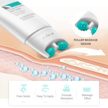 Neck Firming Cream 2 in 1 Roller Massage Neck Cream 110g Anti Aging Wrinkle Moisturizer