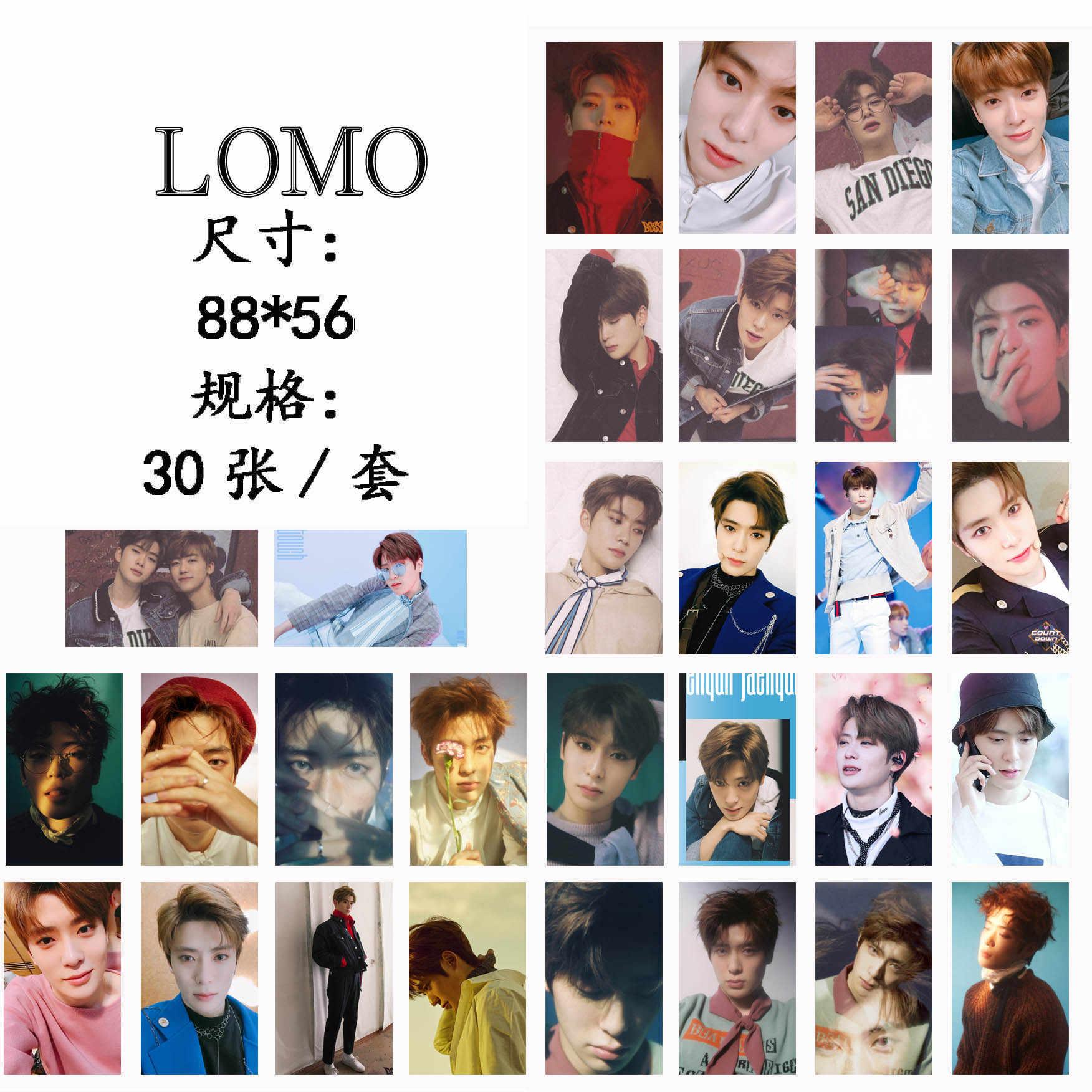 30 Cái/bộ K-POP NCT 127 Jaehyun Photocard Chất Lượng Tốt Album Boss Kpop NCT127 Giấc Mơ HD Lomo Thẻ Thời Trang hàng Mới Về
