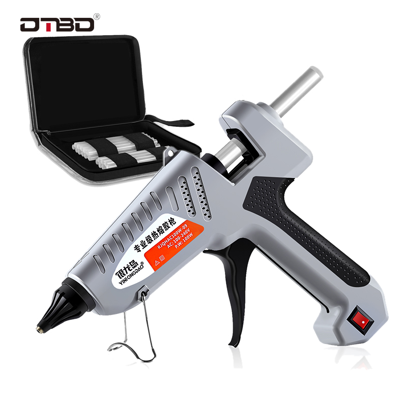 Melt Glue 200W 100-240(V)  Professional High Temperature Hot Melt Glue Gun Repair Tools Hot Glue Gun With Stick Hot