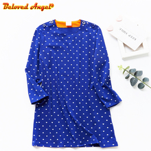 Kids Dresses Girls Baby New Clothing Cotton Princess Clothes Long Sleeve Fashion Children