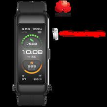 Оригинальный Смарт-браслет Huawei TalkBand B6 Talk Band B6 ширина Bluetooth спортивные браслеты с сенсорным AMOLED экраном