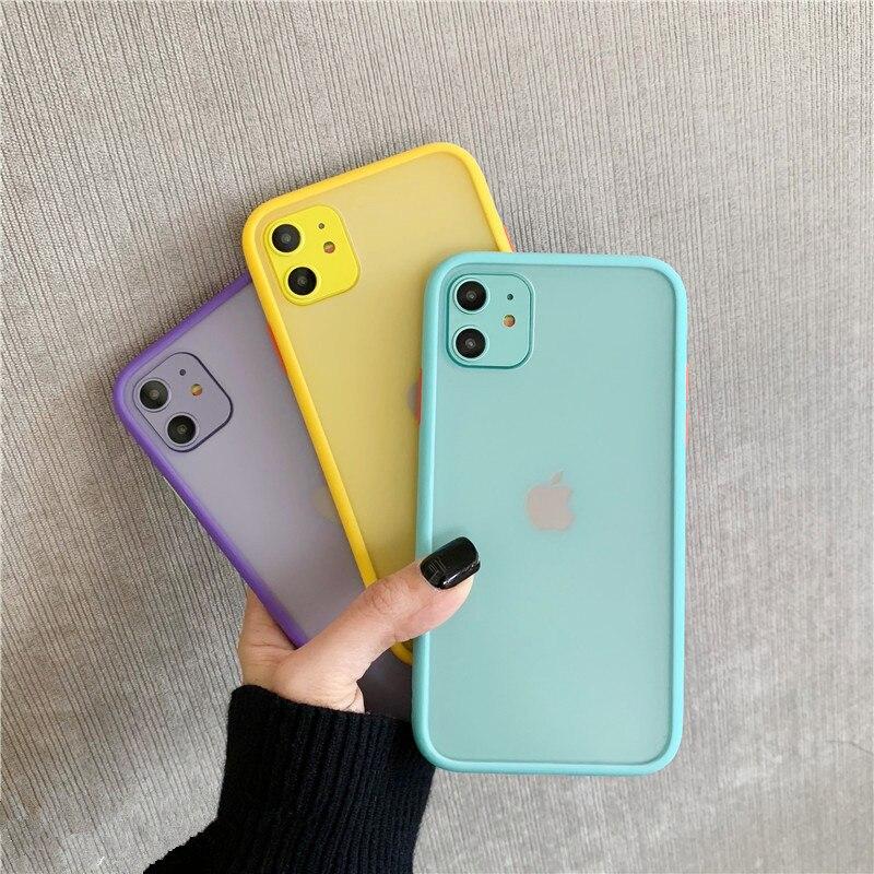 Mint Hybrid Case for iPhone SE (2020) 57