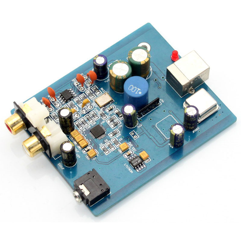 HIFI ES9018K2M SA9023 USB DAC Decoder Board External Sound Card Support 24Bit 92k for Audio Amplifier Module