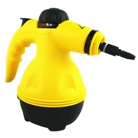 US Plug New 800W Household Vapor Cleaner Multi Purpose Electric Steam Cleaner Portable Handheld Steamer Attachments Kitchen Brus