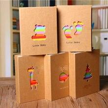 Album Photo de 6 pouces avec 100 pochettes, cadre de rangement pour photos, cadeau pour enfants, étui pour photos de Scrapbooking
