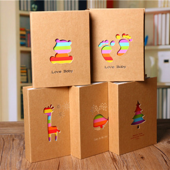 100 Pockets 6 inch Photo Album Picture Storage Frame for Kids Children Gift Scrapbooking Case - discount item  8% OFF Home Decor