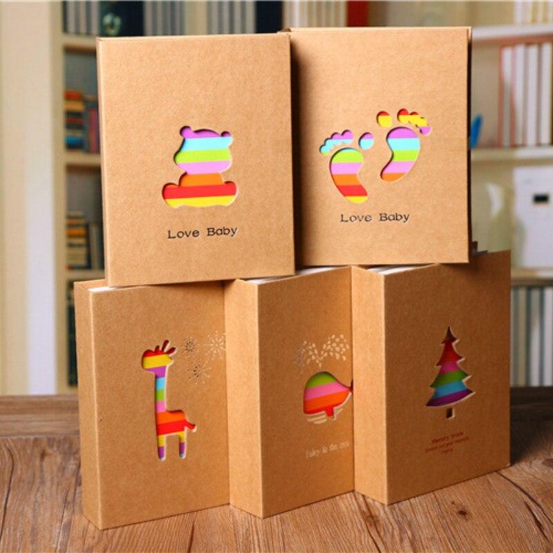 Étui de rangement pour Album Photo de 6 pouces | 100 pochettes, cadre de rangement pour Photo Album Photo, cadeau pour enfants, Scrapbooking |