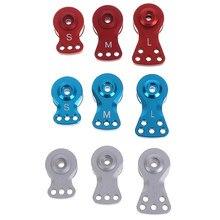 Seção ajustável força servo proteção 25t dentes metade servo braço chifre para 1/8 1/10 carro de controle remoto barco