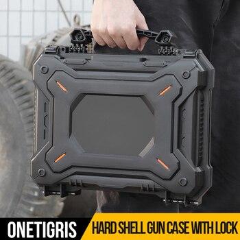 OneTigris Gun Pistolet Ochronny Futerał Na Aparat + Konfigurowalne Wodoszczelne Pancerne Etui Z Pianki