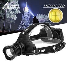 Налобный фонарь xhp902 светодиодный перезаряжаемый с аккумулятором