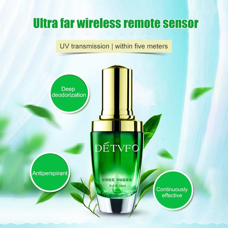30ml Body Odor Antiperspirant Ladies Fragrance Unisex Armpit Sweat Cleaning Lotion Deodorant