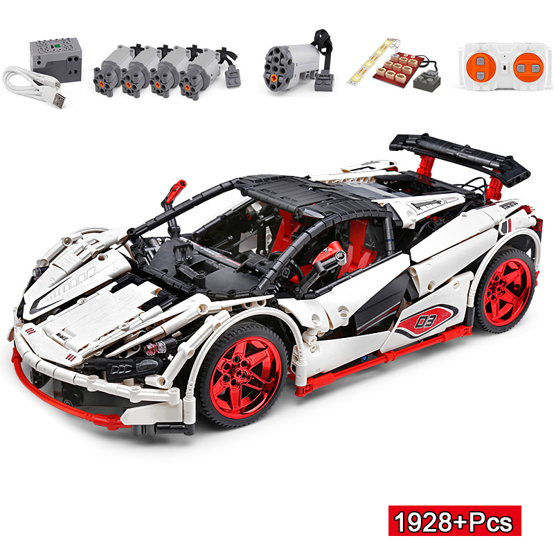 13067 1928Pcs Technic ICARUS Roadster Super Sports Car With RC Building Blocks Bricks Toys Compatible With Toys MOC-4562
