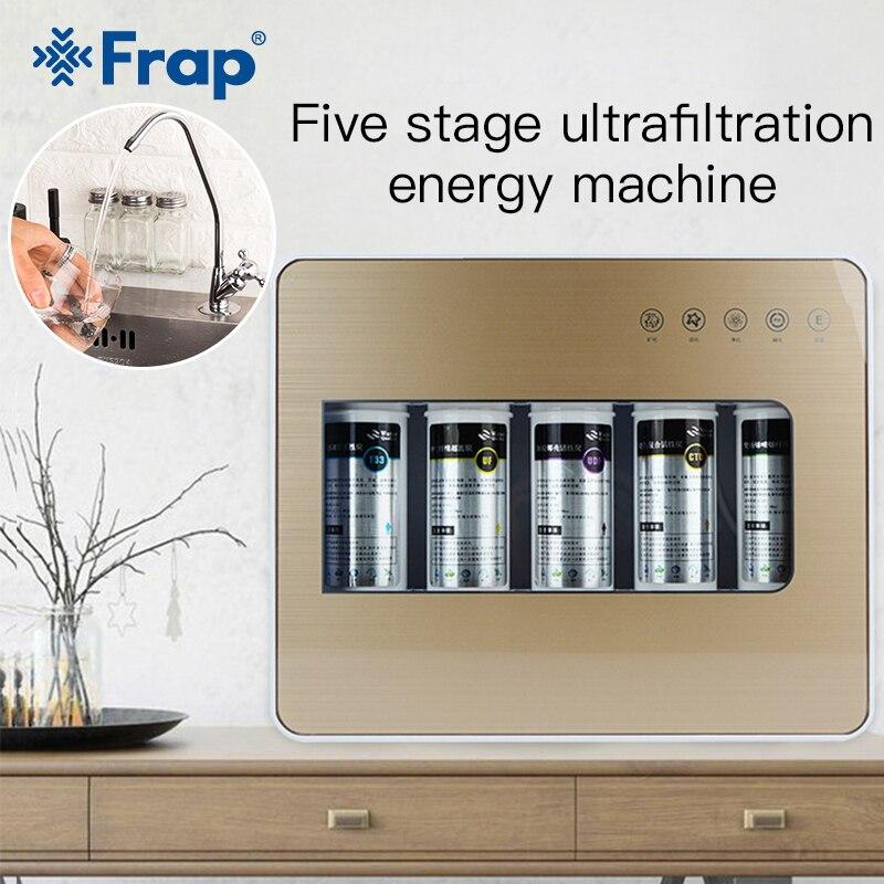 Frap cuisine appareil de Filtration Filtration de l'eau sous-plan de travail de lavabo Filtration maison cuisine purificateur système de filtres à eau