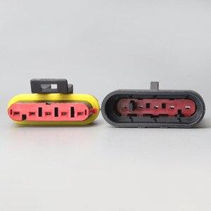 282107-1 282089-1 100 набор 5pin Way AMP супер уплотнение водонепроницаемый электрический провод разъем для автомобиля водонепроницаемый разъем