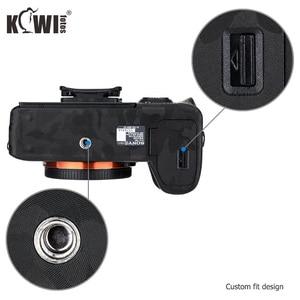 Image 5 - Anti Scratch korpus aparatu nalepka skórki pokrywy folia ochronna na zestaw do Sony A7III A7RIII A7 III A7R III A7M3 A7RM3 A7R3 cień czarny