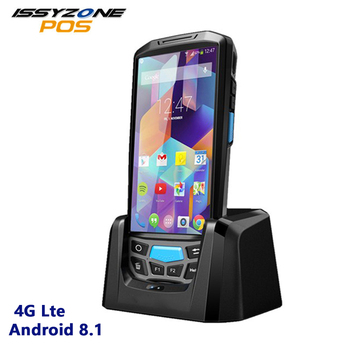 PDA Android 8.1 Rugged Handheld Data Collector Warehouse Logistics 1D 2D Barcode Scanner 4G POS Terminal With 4800mAh Battery
