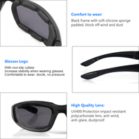 outdoor sports Outdoor Sports Cycling Glasses Safety Eye Protection Anti-glare Waterproof Biker Motocross Motorbike Motorcycle Moto Riding (3)