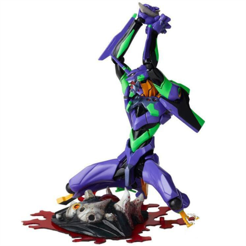 Image 3 - evangelions 6cm NEON GENESIS EVA light Action figure toys collection doll Christmas birthday gift with box Speelgoed PopAction & Toy Figures   -