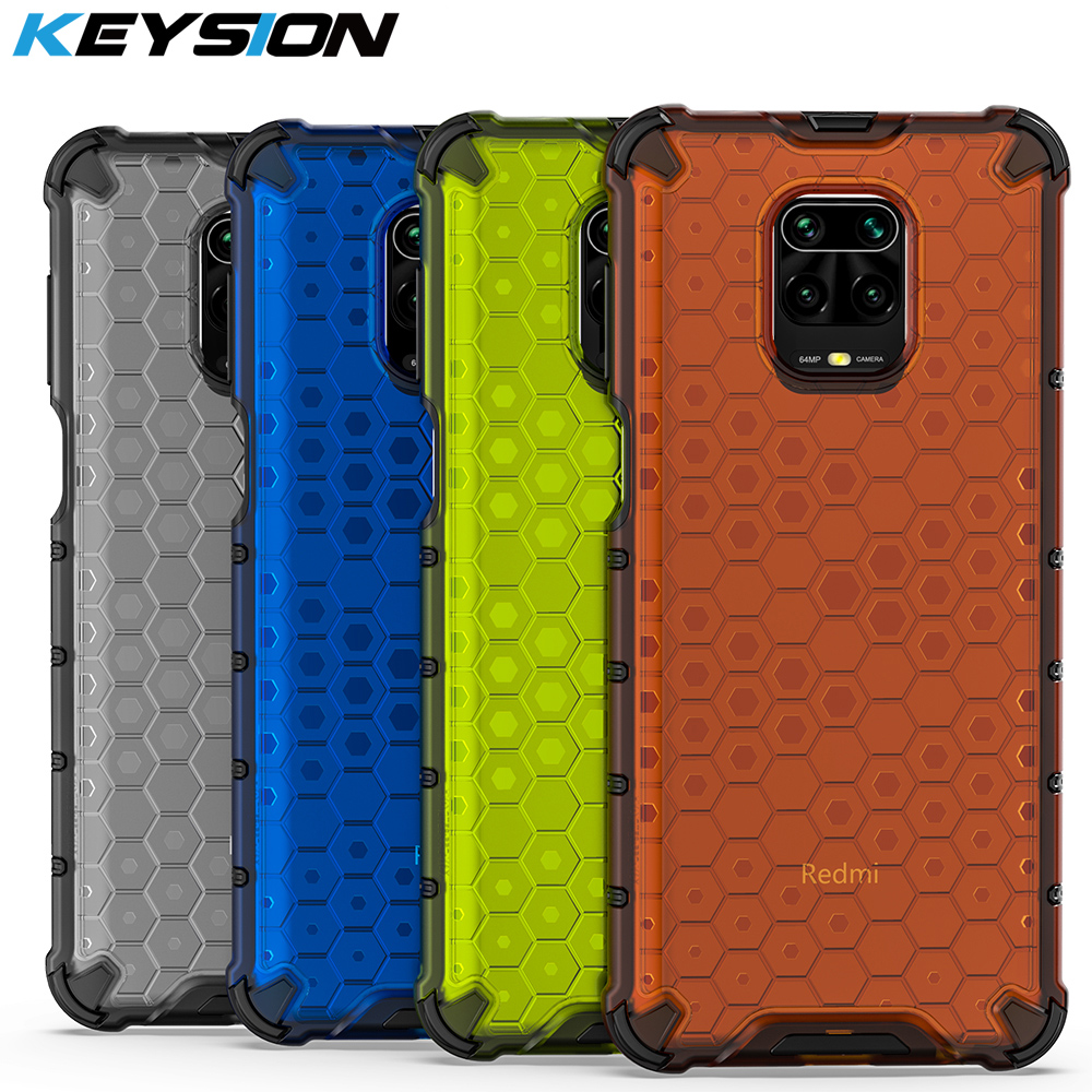 KEYSION Shockproof Case for Redmi Note 9s 8 Pro 8 8A 6 7 7A K30 K20 Pro Phone Cover for Xiaomi Mi 10 Note10 9T Pro A3 MI 9 Lite