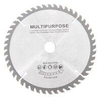 165mm 48 Teeth Circular Saw Blade Tungsten Steel Saw Blade for Woodworking Cutting Durable Saw Blades    -