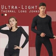 New Thermal Underwear Set Men Winter Long Johns Keep Warm Su