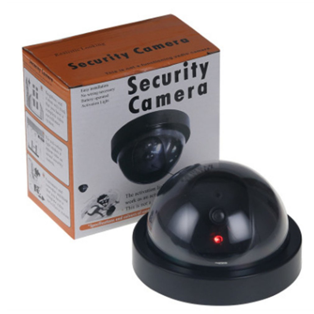 Gefälschte Dummy Kamera Dome Indoor Outdoor-Simulation Kamera Home Security Surveillance Simulierte Kamera Led-Monitor