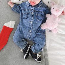 3 вида стилей; мягкий джинсовый Детский комбинезон с граффити; Одежда для младенцев; комбинезон для новорожденных; костюм для маленьких мальчиков и девочек; модные детские джинсы в ковбойском стиле