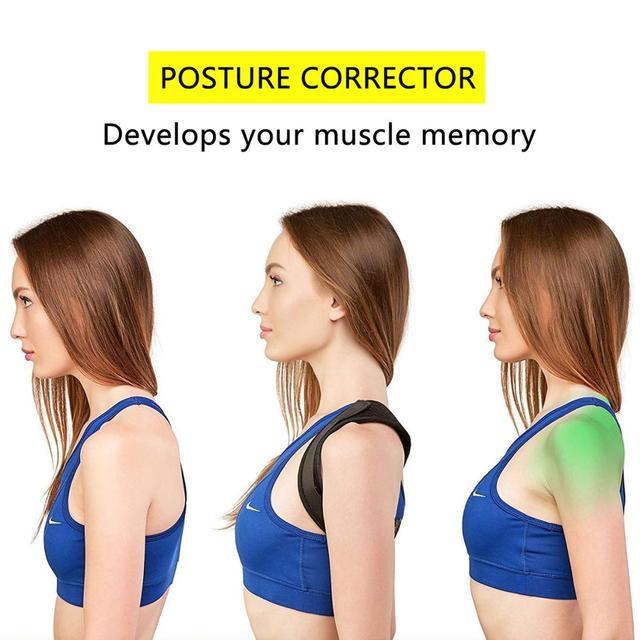 Adjustable Brace Support Belt Back Posture Corrector Clavicle Spine Back Shoulder Lumbar Posture Correction 2