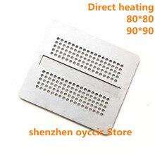 Direct heating  80*80  90*90  D9WCW  D9WCR  K4Z80325BC HC12  GDDR6  DDR6   FBGA180  BGA  Stencil Template