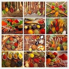 Shayi Сделай Сам 5d алмазная картина Кухня пейзаж мозаика вышивка