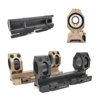 Hunting Tactical Rifle scope mount 25.4 30mm Dual Ring Cantilever Heavy Duty gun sights Scope Quick Release picatinny 20mm rail