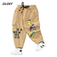 2019 Autumn New Cotton Children's Pants Boys And Girls Casual Pants Children's Sports Trousers Harem Pants Hot Cute Ant Pants pants adidas ap8824 sports and entertainment for boys