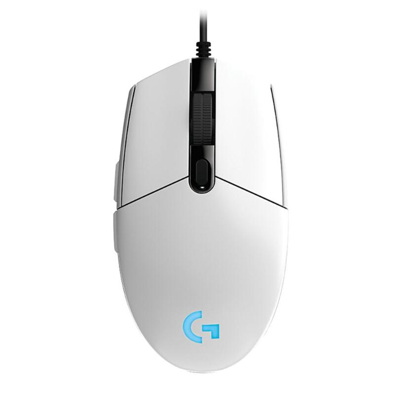 Logitech G102 Gaming Mouse Adjustable 8000DPI RGB Macro Programmable Mechanical Button Wired Mouse Game Mice For Laptop Window