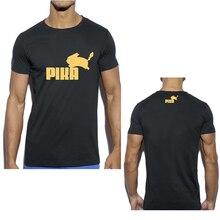 Pokemon Custom T-shirts Professional Design Pattern Print Tshirt High Quality 100%Cotton Casual Men's Tops Tees Streetwear