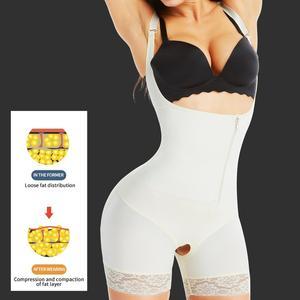 Image 1 - Aiconl Vrouwen Body Shaper Taille trainer Bodysuit Latex Shapewear Butt Lifter Tummy Controle Taille Vormgeven Afslanken Ondergoed