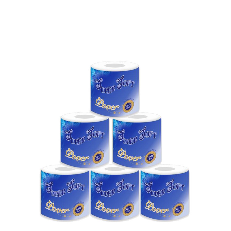 Soft Toilet Paper Bath Tissue Household Wood Pulp Lint-free  Cleaning Paper Comfortable Sanitary Toilet Paper Tissue